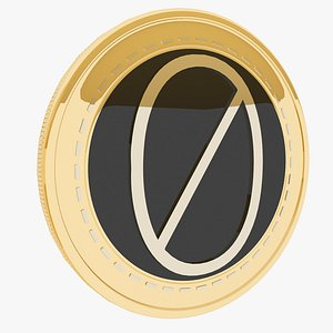 0Chain gold coin model