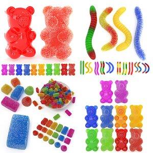 3D gummy sugar