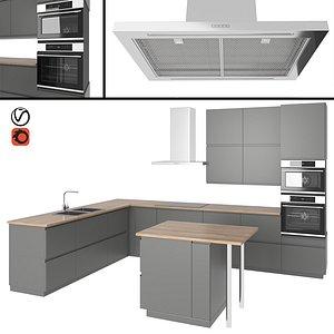 voxtorp kitchen 3D model