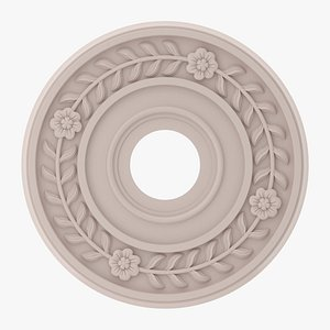 3D Classic Ceiling Medallion 25