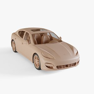 3D model 2009 Porsche Panamera