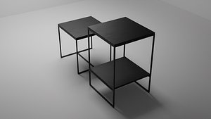 Liam Side Table by Minotti 3D