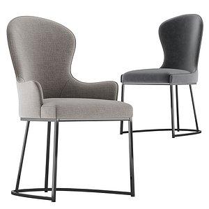 Flexform Mood You dining chair model