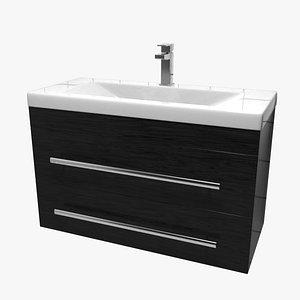 cabinet bath blender 3D model