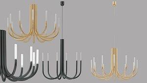 3D laura chandelier