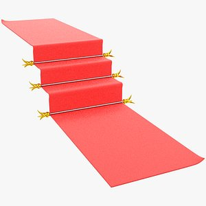 stairs carpet 3D