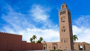 3D Koutoubia Mosque marrakech