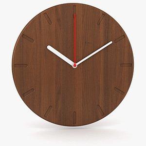3D Wall Clock 4 model