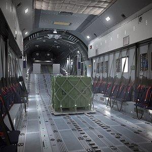 Airbus A400M Cabin model