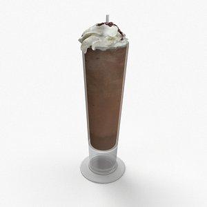 3D Nutella Milkshake