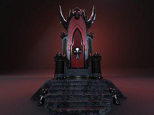 3D Blood Throne