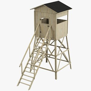 Hunting Stand 3D model