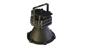 3D led industrial lighting model