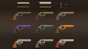 3D weapon muffler bullets