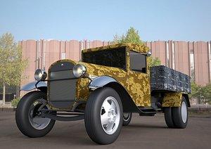 araç nostaljik model