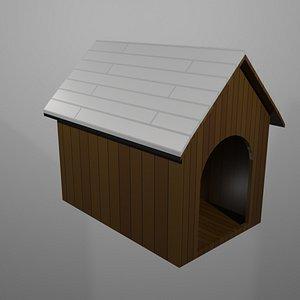 3D dog house simple