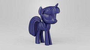 3D Twilight Sparkle model