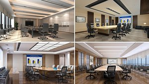 Conference Room Collection 1 3D model