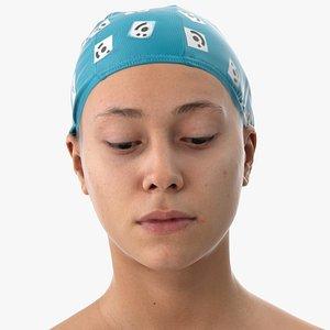 head human eyes model