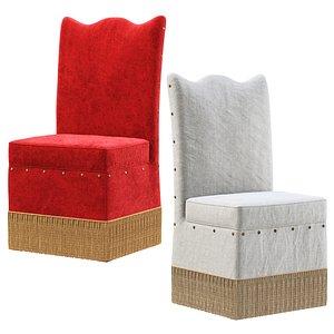 3D model Nelly restaurant chair