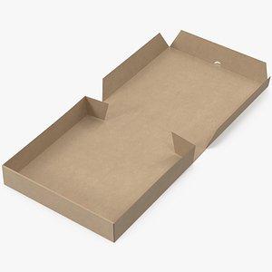 3D pizza box mockup