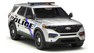 Police Car 2 3D