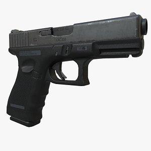 3D model Glock 17 gen 4
