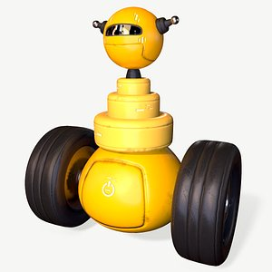 3D Worker Robot model