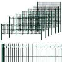 Metal Wicket fence