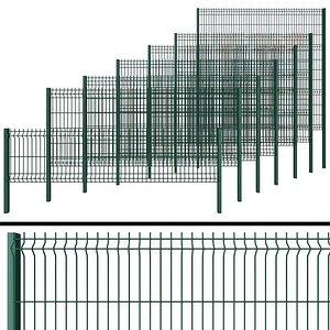 3D fence gates