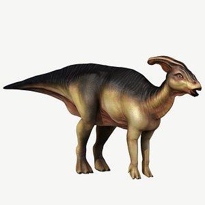 3d parasaurolophus