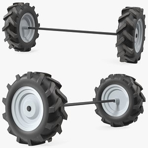 Wheel Axle Kit model