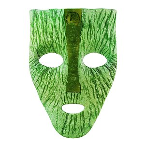 3D Mask from the movie The Mask model