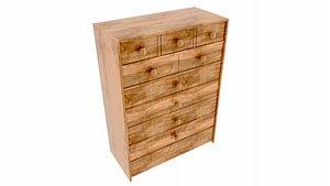 dresser furniture model