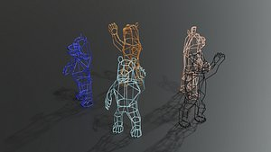 Marching Bear Object by Bend Goods 3D model