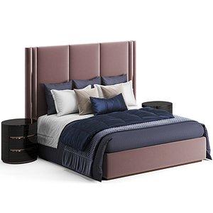 3D Fendi Casa Adone Bed model
