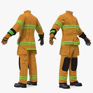 3D rescuer suit model