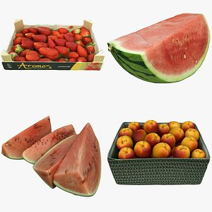 3D Fruit Collection 05