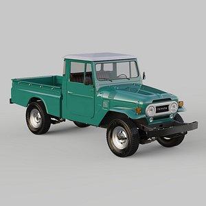 3D Toyota Land Cruiser - Bandeirante 1964