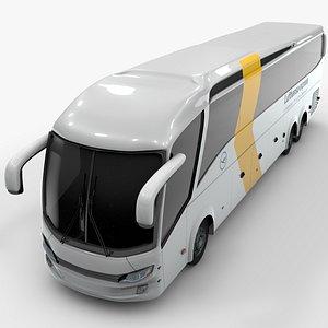 shuttle bus lufthansa 3D