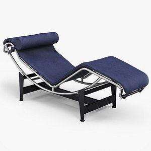 modern chaise longue 3D model