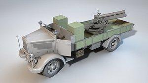 Lancia autocannone 10017 3D model