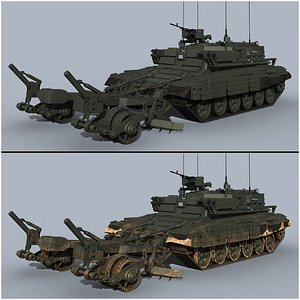 3D BMR-3M model