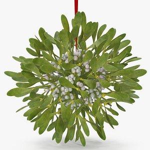 3D Mistletoe v 2 model
