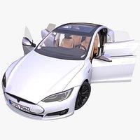 Generic Electric Sedan