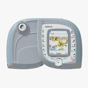 3D model nokia 7600