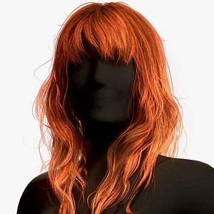3D hair real-time long