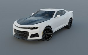 3D model chevrolet camaro zr1 2017