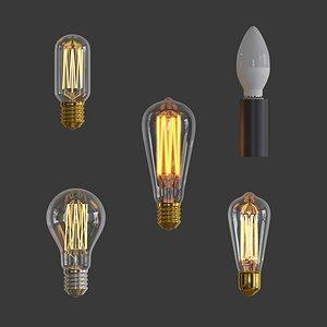lamp set model