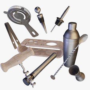 3D Bartools Kit model